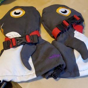 "Veyo Mittyz Penguin ""Flipper""  Kids Mittens"